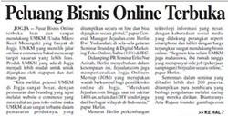 Peluang Bisnis Online Terbuka