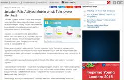 Jejualan Rilis Aplikasi Mobile untuk Toko Online Merchant